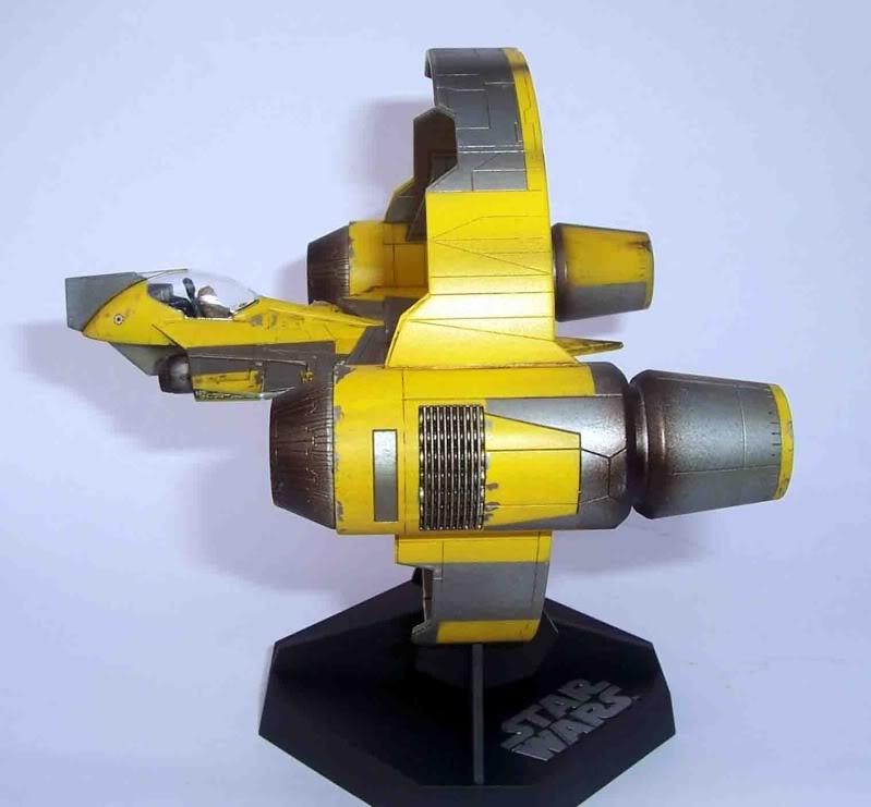 Star Wars - Jedi Starfighter con anillo de hipervelocidad Imagen003