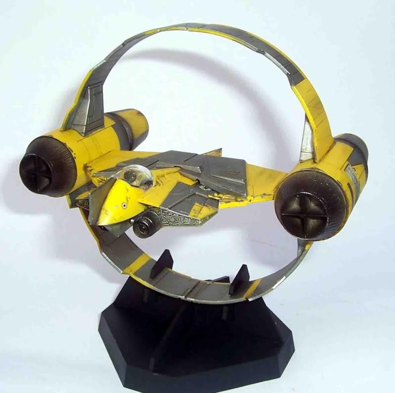 Star Wars - Jedi Starfighter con anillo de hipervelocidad Imagen004