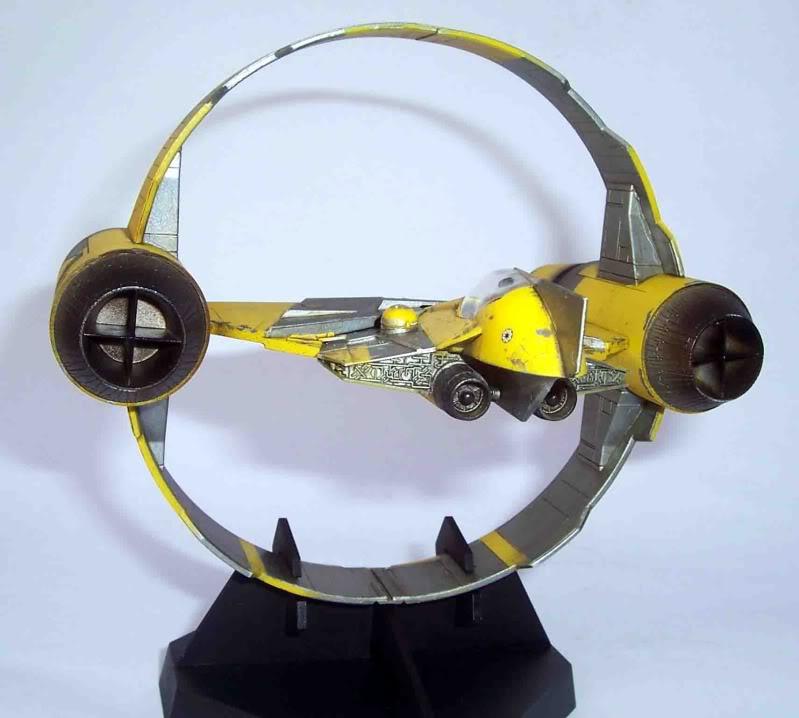 Star Wars - Jedi Starfighter con anillo de hipervelocidad Imagen005