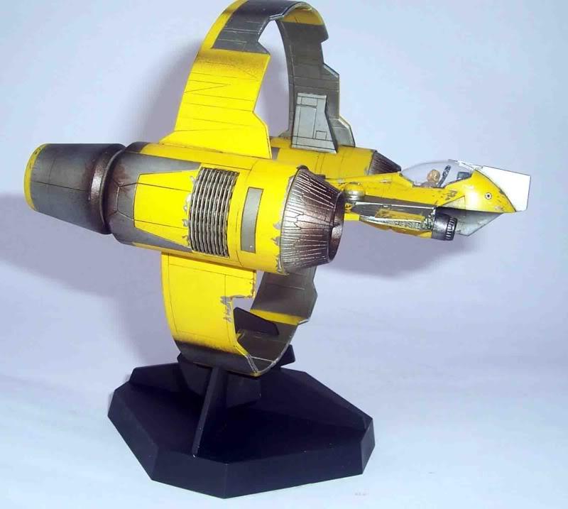 Star Wars - Jedi Starfighter con anillo de hipervelocidad Imagen006