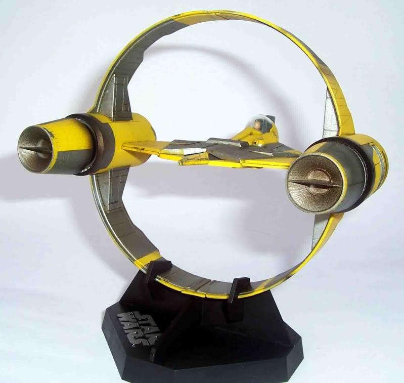 Star Wars - Jedi Starfighter con anillo de hipervelocidad Imagen007