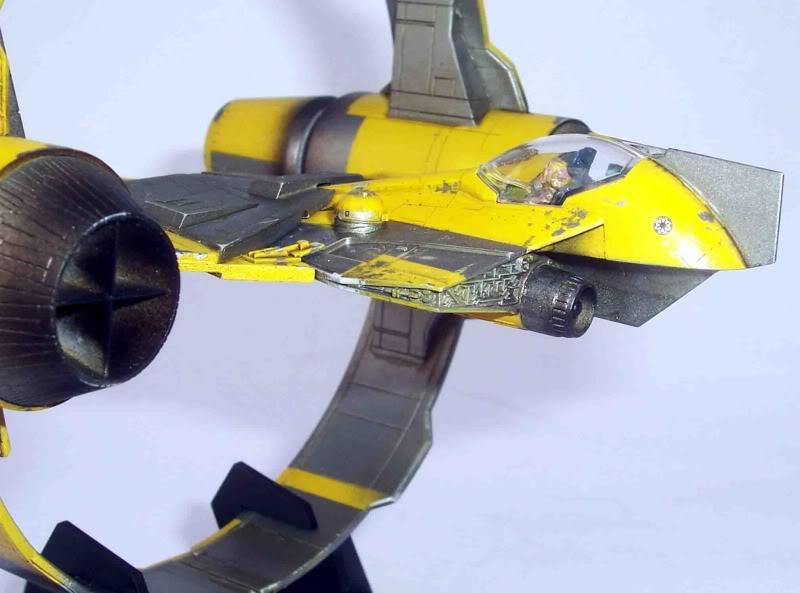 Star Wars - Jedi Starfighter con anillo de hipervelocidad Imagen008