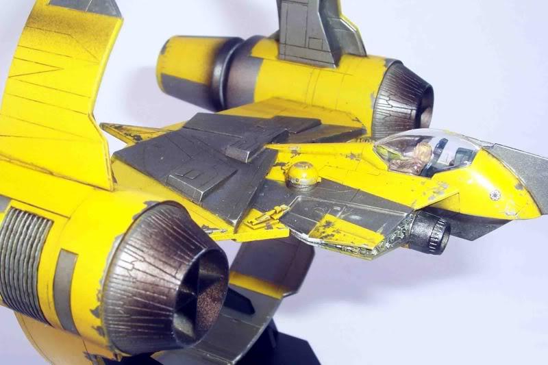 Star Wars - Jedi Starfighter con anillo de hipervelocidad Imagen009