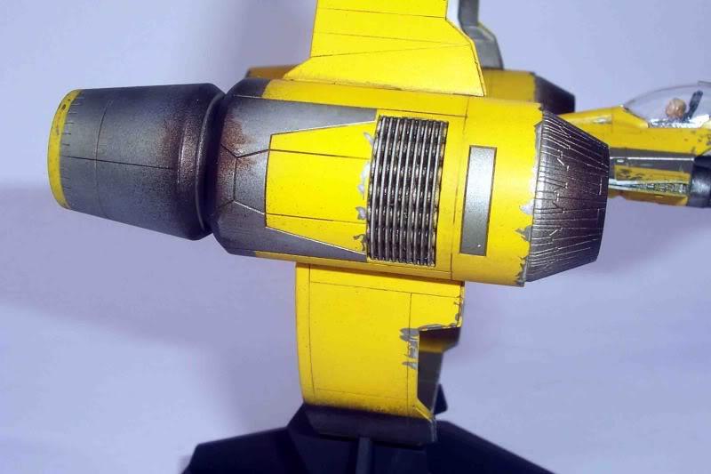 Star Wars - Jedi Starfighter con anillo de hipervelocidad Imagen010