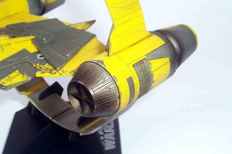 Star Wars - Jedi Starfighter con anillo de hipervelocidad Imagen011