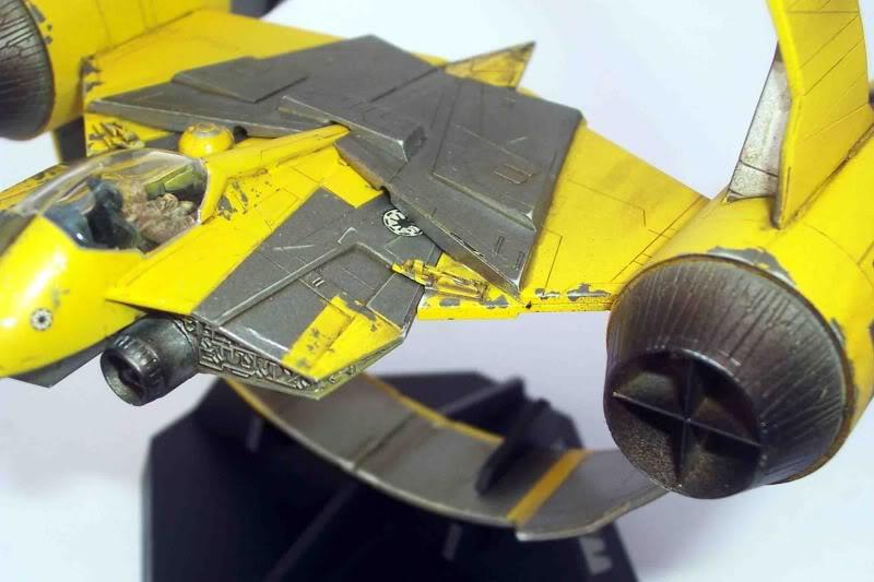 Star Wars - Jedi Starfighter con anillo de hipervelocidad Imagen012