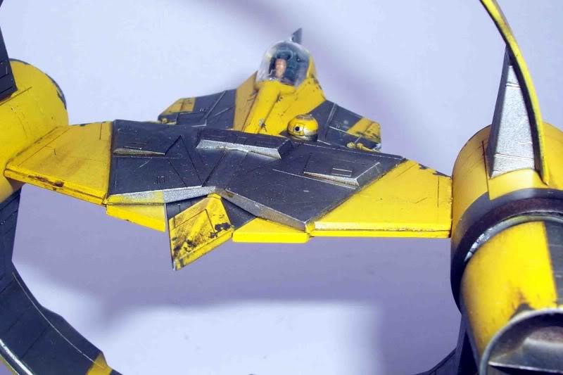 Star Wars - Jedi Starfighter con anillo de hipervelocidad Imagen014