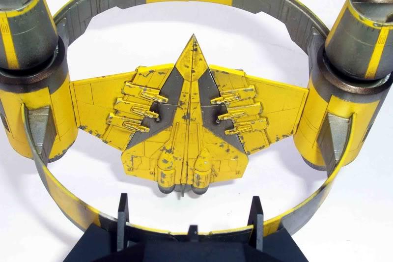 Star Wars - Jedi Starfighter con anillo de hipervelocidad Imagen018