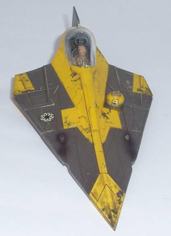 Star Wars - Jedi Starfighter con anillo de hipervelocidad Imagen020