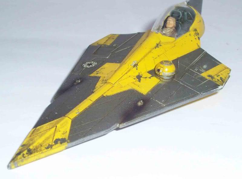 Star Wars - Jedi Starfighter con anillo de hipervelocidad Imagen022