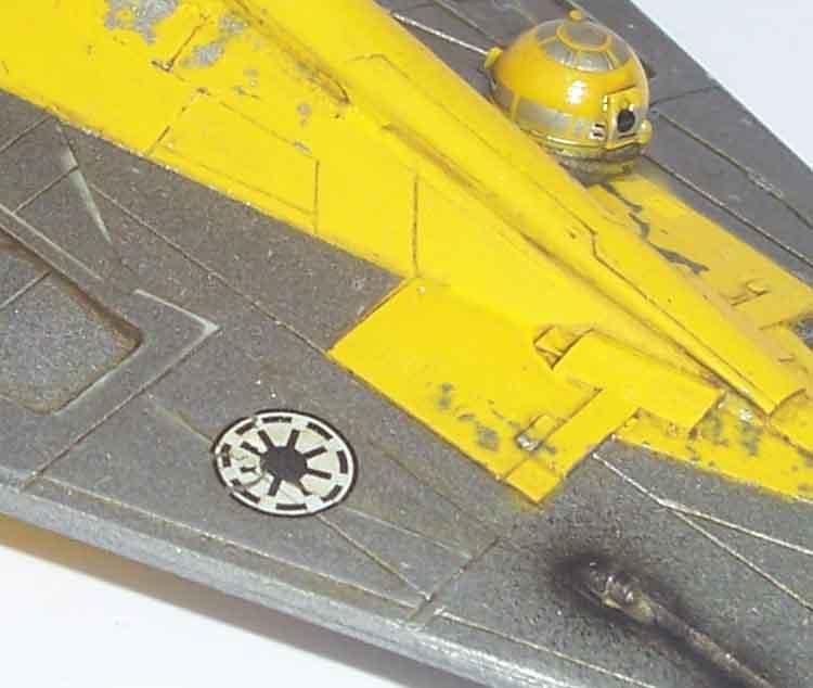 Star Wars - Jedi Starfighter con anillo de hipervelocidad Imagen023