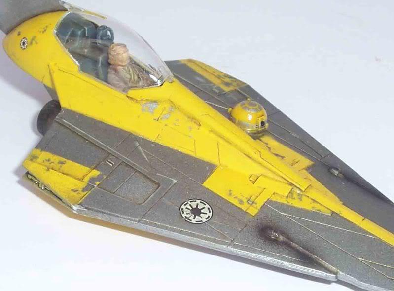 Star Wars - Jedi Starfighter con anillo de hipervelocidad Imagen024