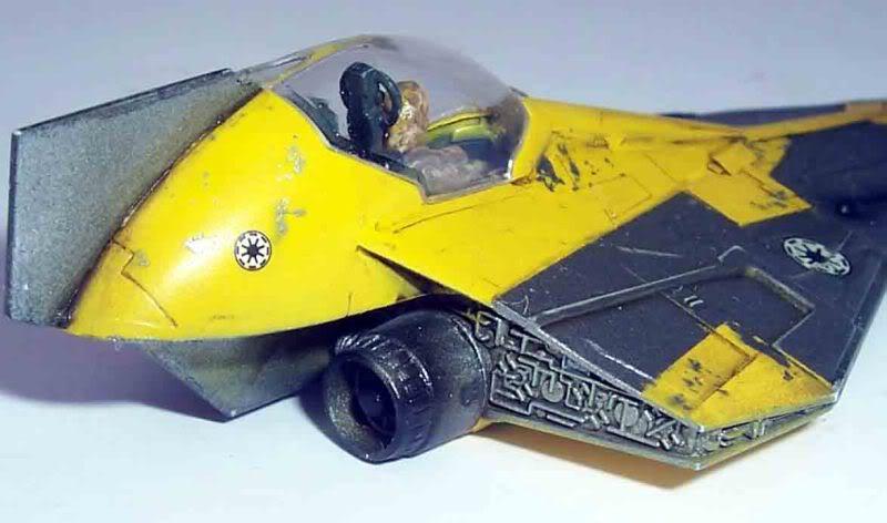 Star Wars - Jedi Starfighter con anillo de hipervelocidad Imagen026