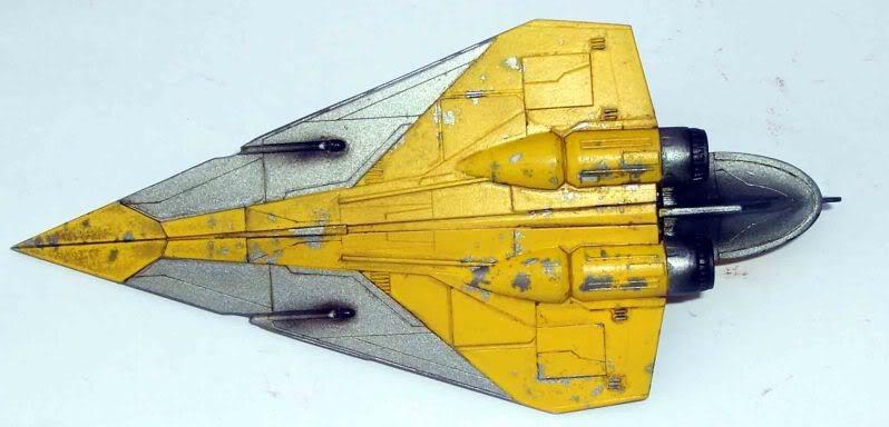 Star Wars - Jedi Starfighter con anillo de hipervelocidad Imagen030