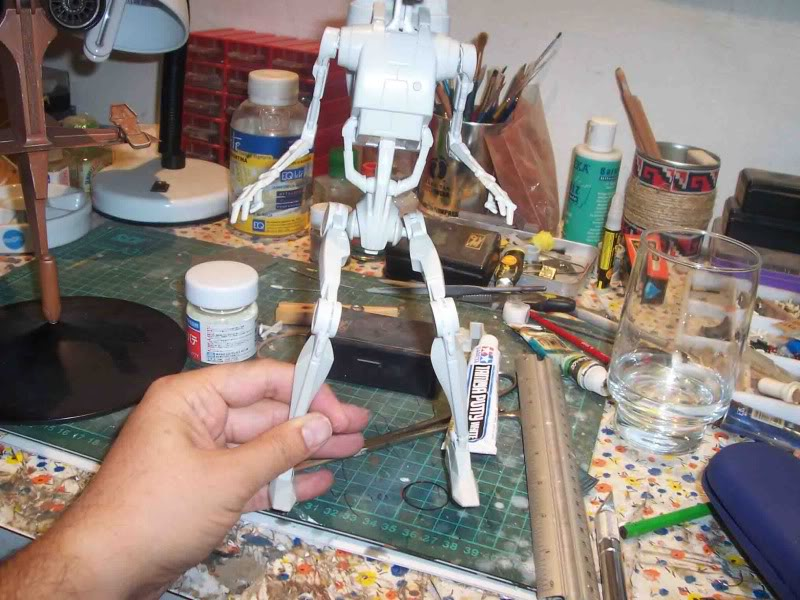 Star Wars -  Battle droid with Stap  C