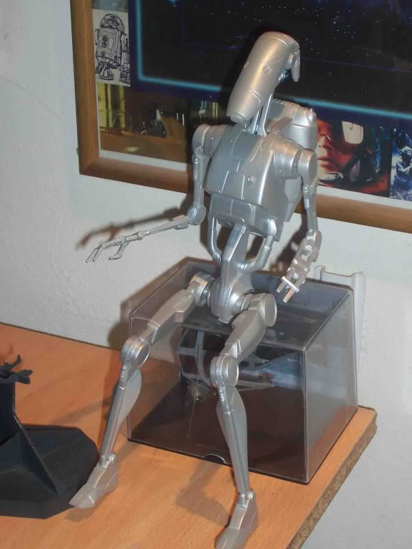 Star Wars -  Battle droid with Stap  Fe
