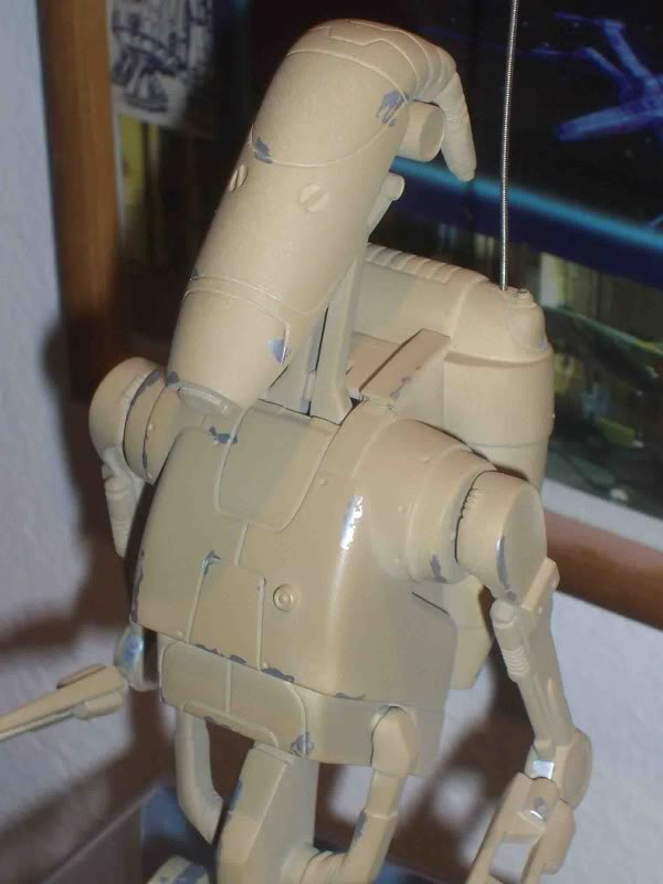 Star Wars -  Battle droid with Stap  Fh