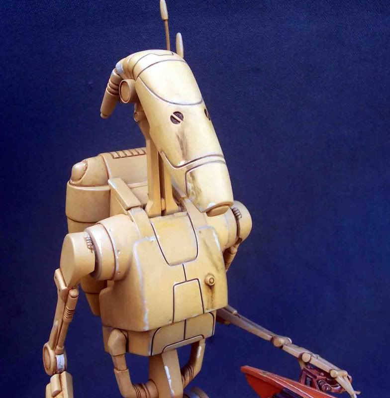 Star Wars -  Battle droid with Stap  G