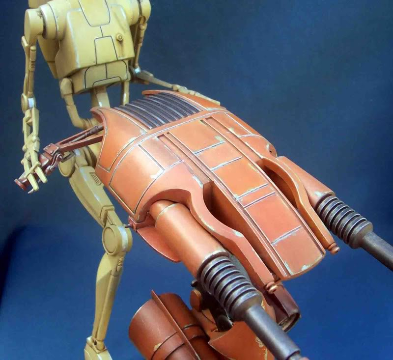 Star Wars -  Battle droid with Stap  Ga