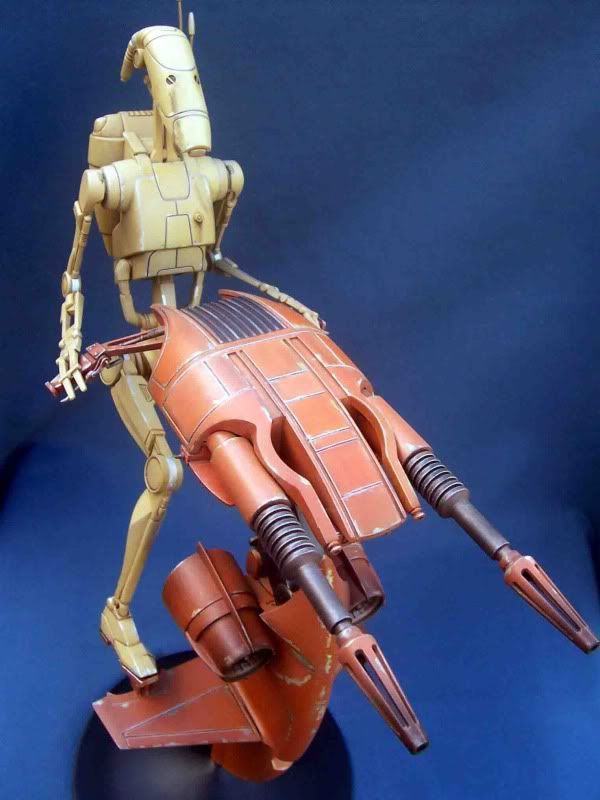 Star Wars -  Battle droid with Stap  Gb