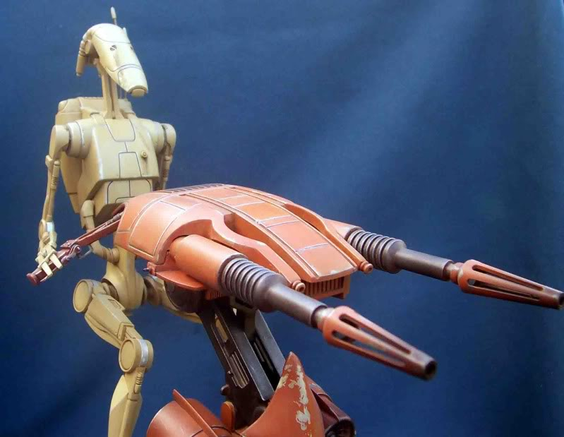 Star Wars -  Battle droid with Stap  Gc
