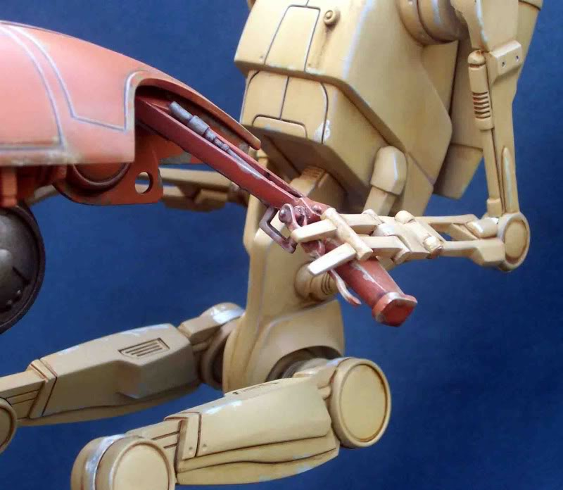Star Wars -  Battle droid with Stap  Ge