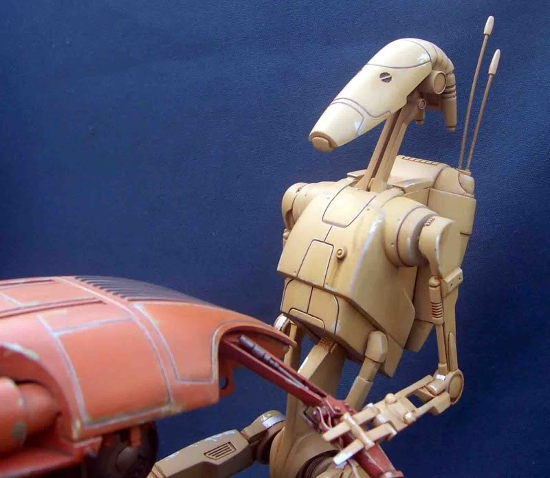Star Wars -  Battle droid with Stap  Gf