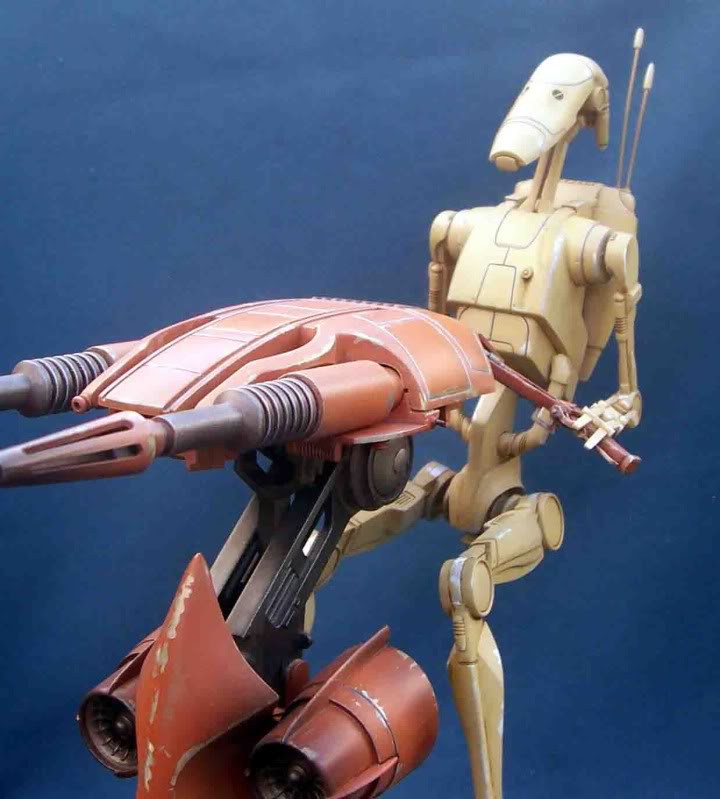 Star Wars -  Battle droid with Stap  Gh
