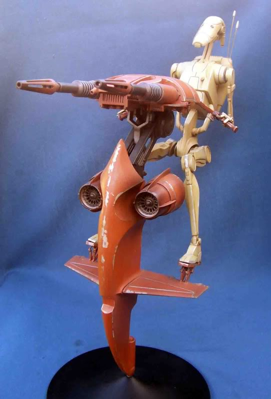 Star Wars -  Battle droid with Stap  Gi