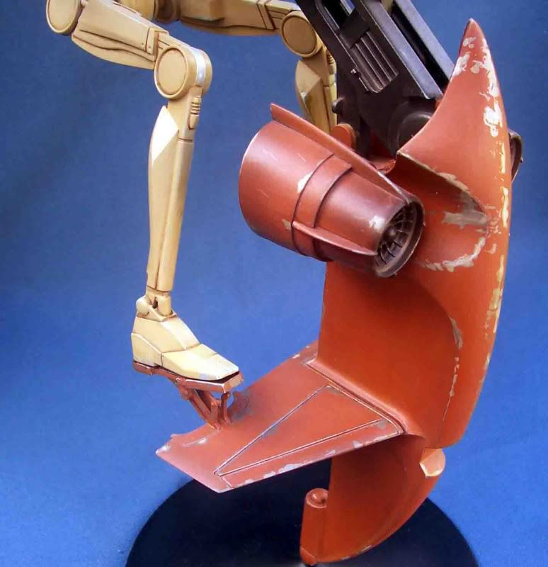 Star Wars -  Battle droid with Stap  Gk