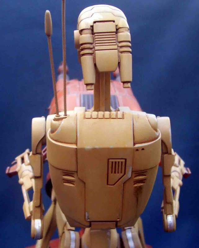 Star Wars -  Battle droid with Stap  Ha