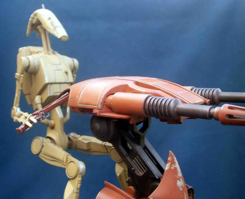 Star Wars -  Battle droid with Stap  Hb