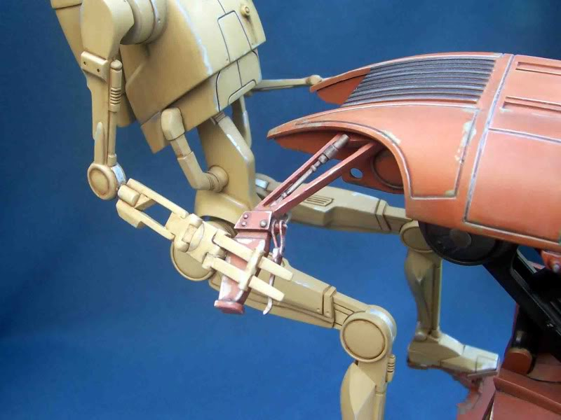 Star Wars -  Battle droid with Stap  Hc