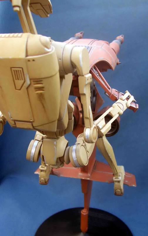Star Wars -  Battle droid with Stap  Hi