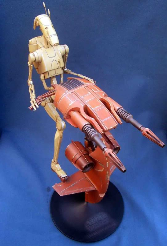 Star Wars -  Battle droid with Stap  Id