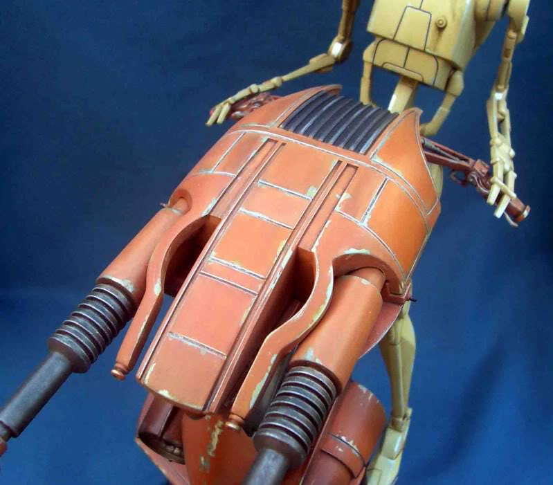 Star Wars -  Battle droid with Stap  Ig