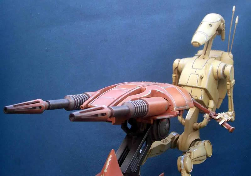Star Wars -  Battle droid with Stap  Ih
