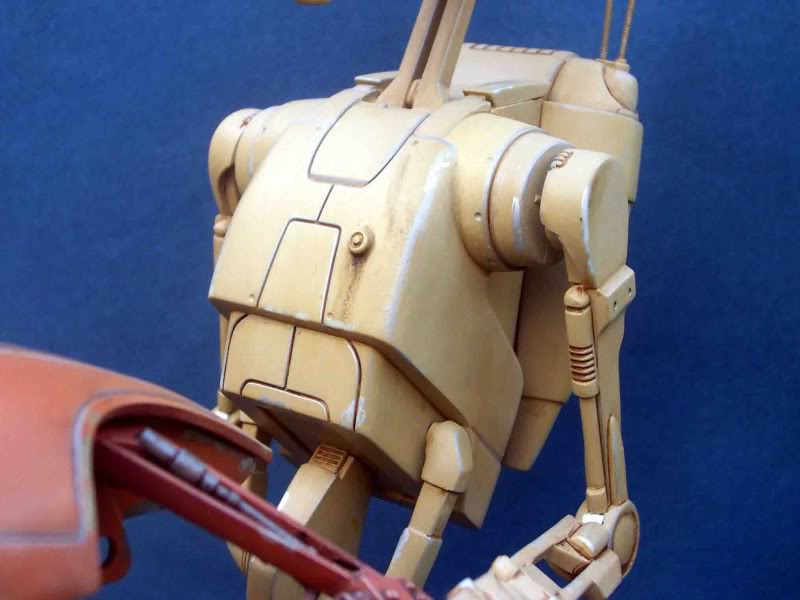 Star Wars -  Battle droid with Stap  Ij
