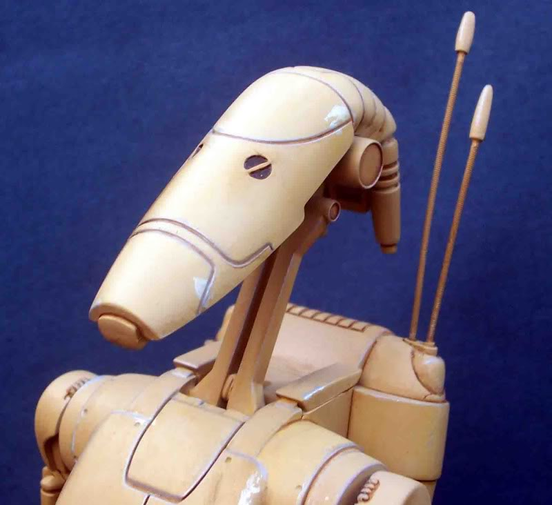 Star Wars -  Battle droid with Stap  Ik