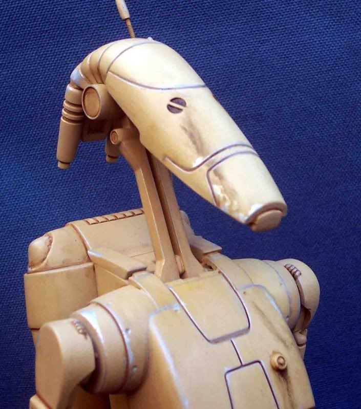 Star Wars -  Battle droid with Stap  Il