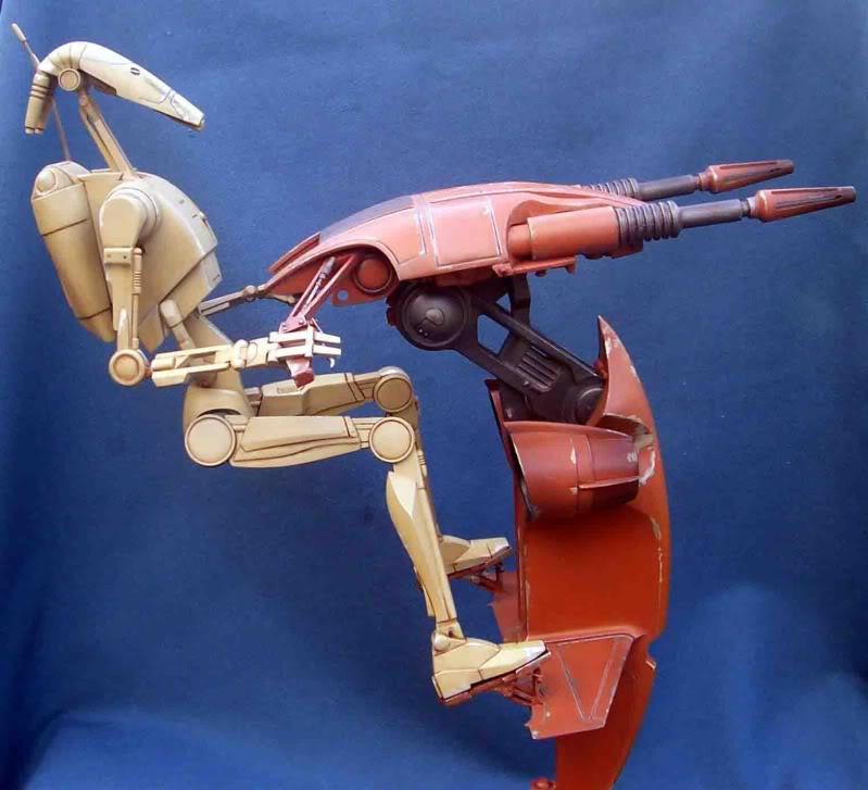 Star Wars -  Battle droid with Stap  Im