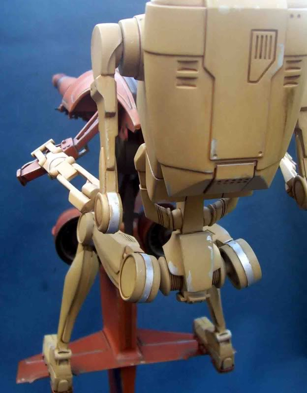 Star Wars -  Battle droid with Stap  In