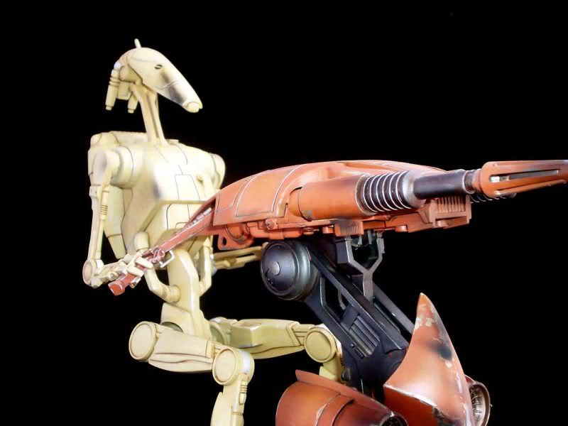 Star Wars -  Battle droid with Stap  Mapeo019