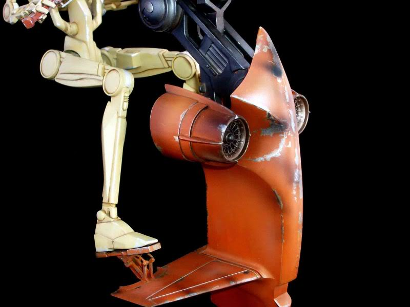 Star Wars -  Battle droid with Stap  Mapeo020