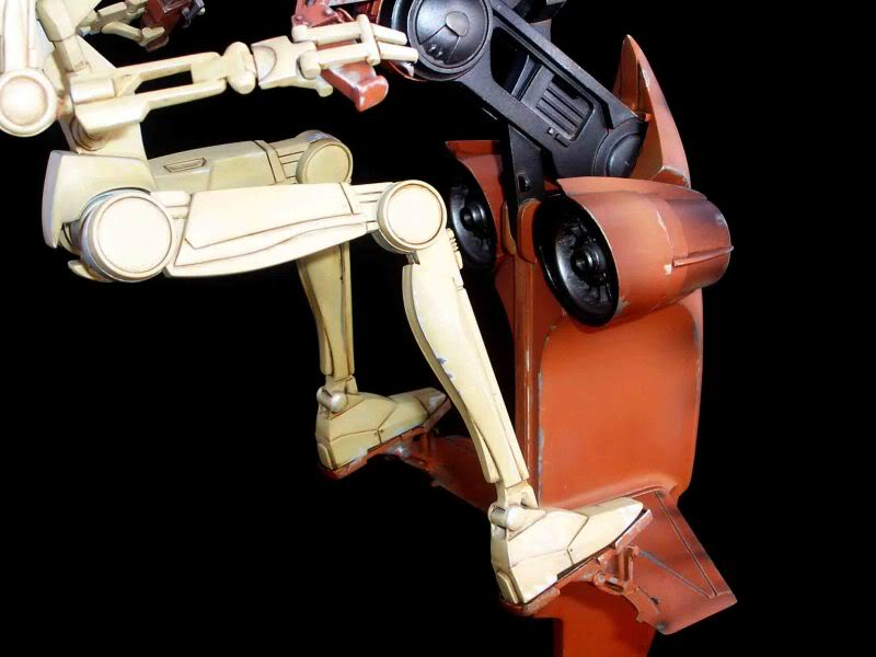 Star Wars -  Battle droid with Stap  Mapeo021