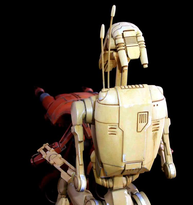 Star Wars -  Battle droid with Stap  Mapeo022