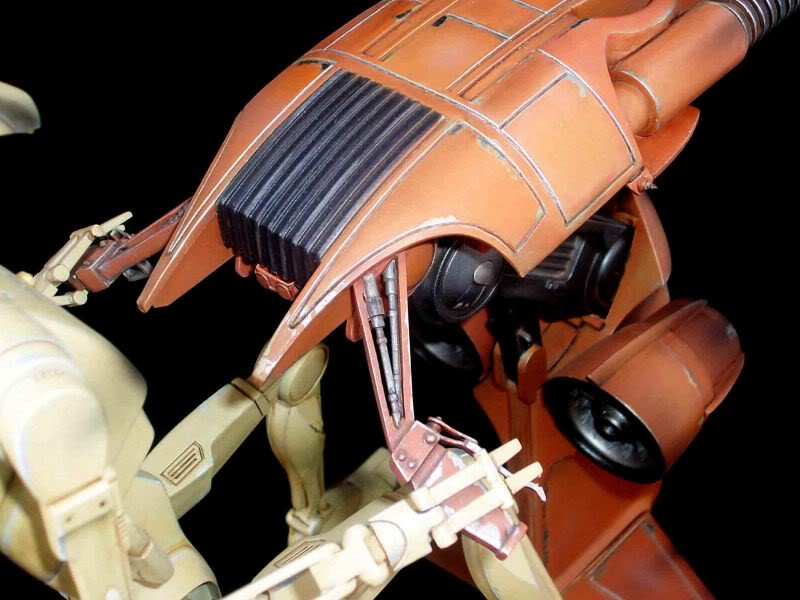 Star Wars -  Battle droid with Stap  Mapeo034