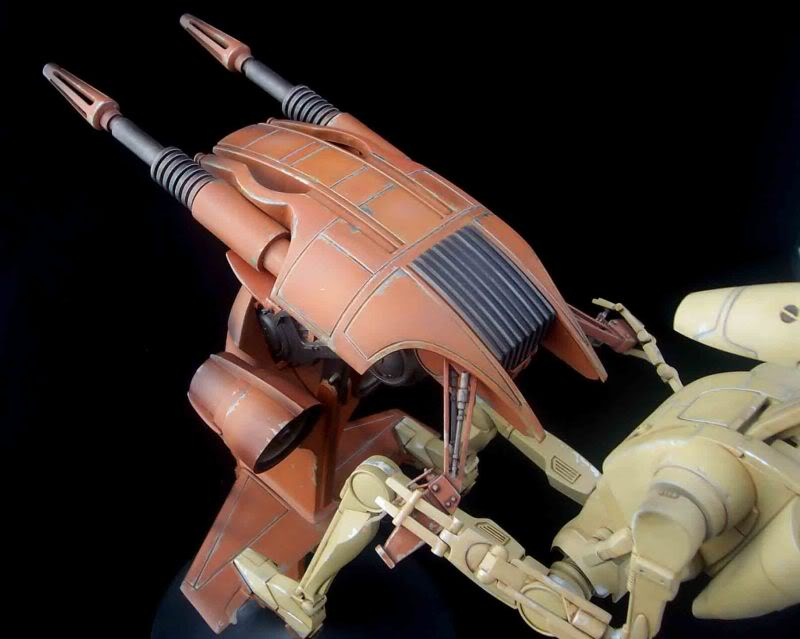 Star Wars -  Battle droid with Stap  Mapeo069