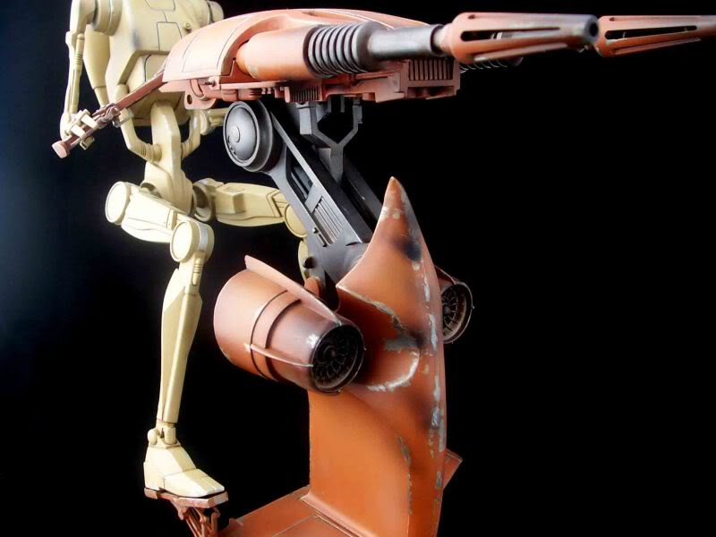 Star Wars -  Battle droid with Stap  Mapeo070
