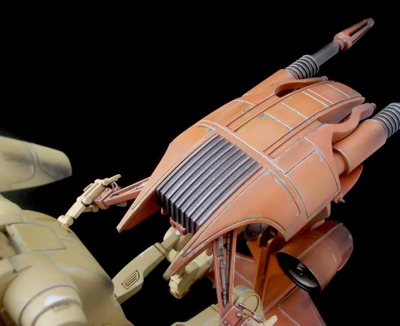 Star Wars -  Battle droid with Stap  Mapeo074